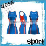 High quality imported customized sleeveless netball dresses                                                                                                         Supplier's Choice