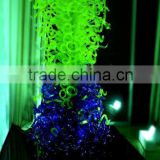 Modern Glass Sculpture Centerpiece for Wedding Decorations