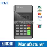 Bluetooth Mini Wireless pos system linkable with IOS Android Windows, micro IC RFID card reader nfc with EMV certificated