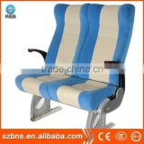 Luxury bus passenger seat withleather seat cover