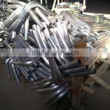 High quality low price aluminum tube bending (aluminum bend tube 90 degree, aluminium pipe bend)