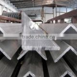 Customized L shape 6000 series extruded angle aluminium profile and angle aluminium bar