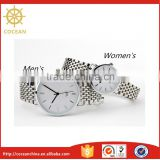 Hot Sale!stainless steel back quartz watch infinity Fashion regal waterproof watches japan movt