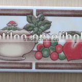 wall tile border ceramic decoration
