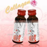 Whitening gold collagen drink