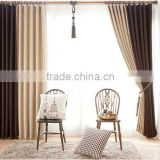 Home decoration window 100%ployester fabric European high-grade jacquard polyester curtain