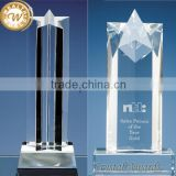 2016 best sell award trophy blank glass crystal awards                                                                         Quality Choice