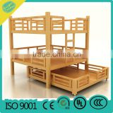 kindergarten bed OEM pre-school kids bed children wooden bed