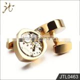 2015 New Product Classic Gold Watch Cufflinks