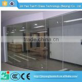 China manufacturer safety 2 hour fire rated glass