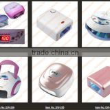 EW-259 !Better Material, 36W 220V Gel Curing Nail Art UV Lamp/nail uv lamp 110V 220V(EU Plug) with 4pcs 9W 365nm Bulb,wholesale,
