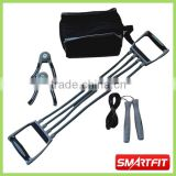 adult mens strength training set body-fit exercise kit with cloth bag training accessories