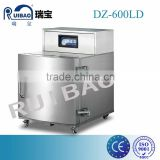 DZ-600LD Brick Shaping vertical single chamber vacuum seal packaging machine with big chamber, for 10KG 20KG 30KG 40KG pack