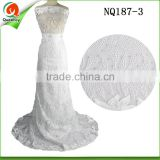 nigerian style french lace women dresses lace fabric tulle lace of high quality with rhinestones