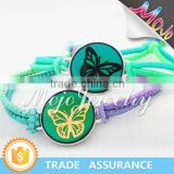2015 Top Sales Butterfly Pattern Mood Color Change Fashion Jewellery Bracelets Jewelry Makers