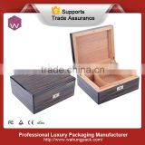 Luxury wooden cigar packaging box(WH-3750-2-ML)