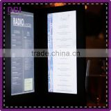 Hotel restaurant bar used leather pu folder (Patent Product 2014-2-0239452.0) / restaurant design / dart board
