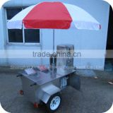2014 Firm Structure Mobile Meal Coffee Delivery Food Snack Shopping Kiosk Carts Trolleys XR-CC120 A