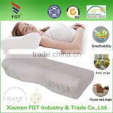 2016 FGT Wholesaler natural memory foam latex pillow with bamboo fiber cover
