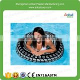 2015 New Design Giant Tire Inflatable Floating Swimming Tube Raft Big Pool&beach Float 36""