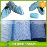 Hot Sales Disposable Waterproof Bedsheet Roll Use Medical Sms Non Woven Fabric Roll/smms non-woven fabric shoe cover cloth                                                                                                         Supplier's Choice