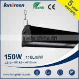 CE,UL,TUV,SAA,RoHS DLC Listed good quality 150w led high bay light for middle and high-end market
