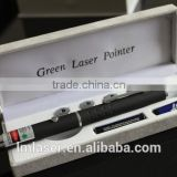 Handheld soft Green Laser pen for Gift with Star Lence
