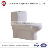 sanitary ware ceramic toilet,wall hung toilet,bathroom ware,production inspection,QC inspectors,factory audit,quality control