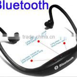 2015 shenzhen neckband bluetooth wireless headset stereo headphone for samsung galaxy s4 i9500/xiaomi mi3/iphone
