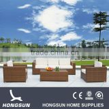 Modern luxury patio furniture rattan sofa set                                                                         Quality Choice