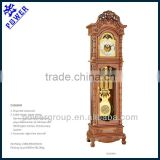 Grandfather clock with Bamboo and Grapevine pattern German made Hermle movement High quality PW1563HR