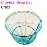 High quality 2 ring hanging yabbie net