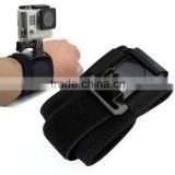Hot Accessories 360 Degree Rotation Gopro Hand Wrist Band Strap Mount For Gopro Hero 4/3/2/1 SV020347