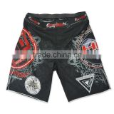 2015 Wholesale custom made martial arts sublimated MMA shorts                                                                         Quality Choice