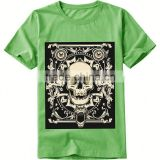 free design colorful oem logo printing skeleton pattern logo design men fashion t shirt customized t shirt                                                                         Quality Choice