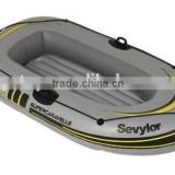 plastic PVC inflatable rowing drift boat