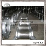 Braided Flexible Metal Flanged Connector Stainless Steel Hose with 304 Stainless Steel Braid and Carbon Steel Plate Flanges