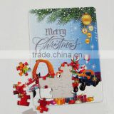 Carton printing jigsaw puzzle lamp machine prices 3d puzzle diy toy