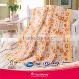 Coral fleece blanket super soft 100% polyester blanket bedcover fabric KING QUEEN SIZE truelove inlove