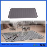 Drying mats for dishes silicone wash dish drying mat kitchen tool