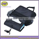 car back seat organizer with an ice cooler bag also four little bags storage for your stuffs