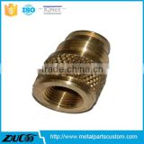 non-standard precision parts Durable CNC machining Brass Fitting Parts