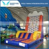 China inflatable outdoor playground latest craze used rock climbing wall price
