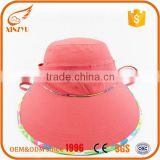 Woman sun hat manufacturer promotional items flat brim kids cap                                                                                                         Supplier's Choice
