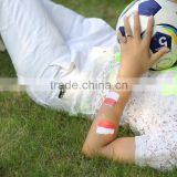 Beauty Sticker 2016 UEFA gold and silver tattoo stickers/world cup country flag tattoo sticker