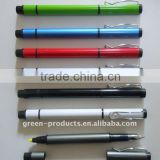 Recycled metal aluminum highlighter pen and ball pen (TPA001)                                                                         Quality Choice