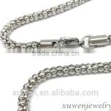 China factory custom different sizes stainless steel jewelry chain