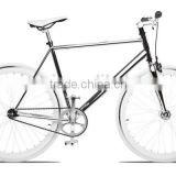 Wholesale china fixie 700C tyre carbon fibre road bike fixed gear bike Carbon fixie