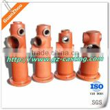 2 way fire hydrant housing OEM casting products from alibaba website China manufacturer with material steel aluminum iron