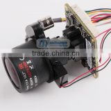 "2.8-12mm Zoom Lens IPC Varifocal Motorized 2.0MP 1/2.8"" SONY CMOS IMX322 +Hi3516 IP Camera Module"